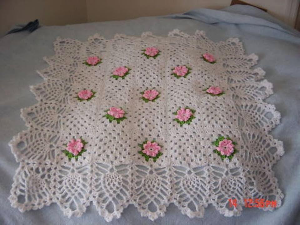 tığ işi bebek battaniyesi nasıl yapılır