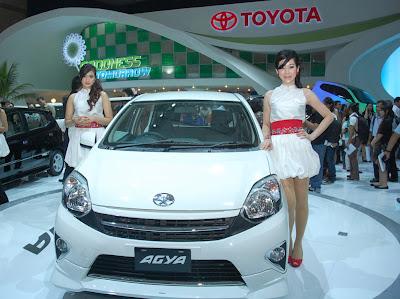 Harga Toyota Agya, Type dan Spesifikasi