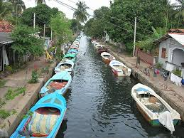 Canal in Colombo