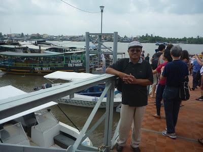 Sungai Mekong, Vietnam - 2012