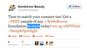 Free Sample Bobbi Brown Foundation at Nordstrom
