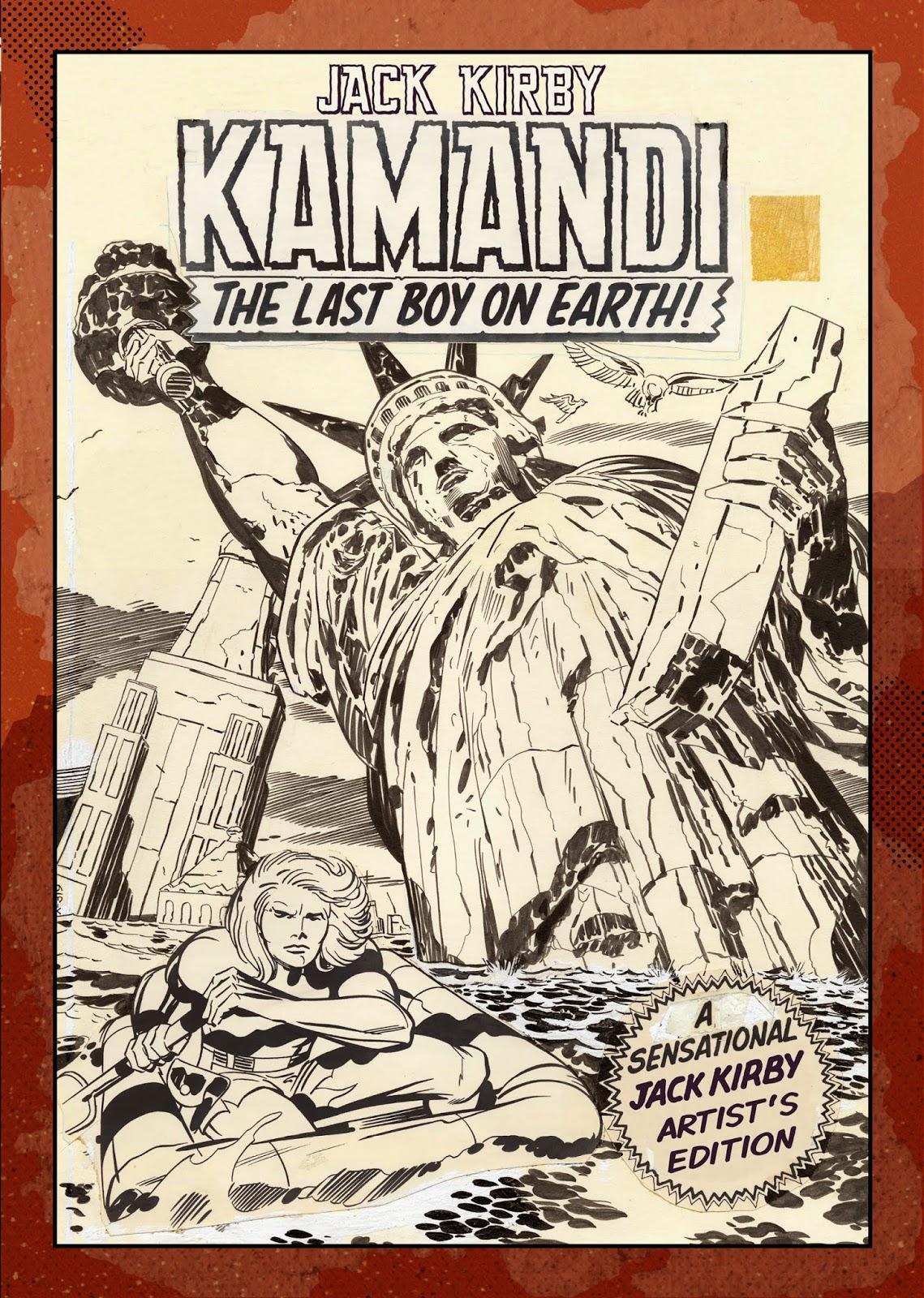 Kamandi - Jack Kirby - Artist's Edition