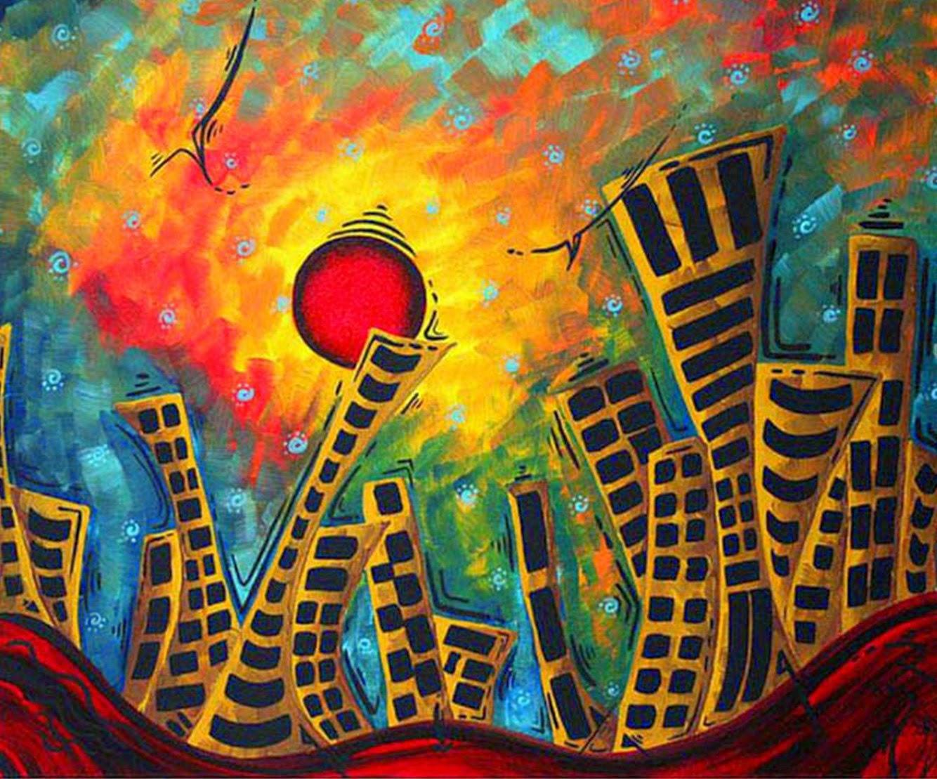 Pintura moderna y fotograf a art stica cuadros f ciles y for Imagenes de cuadros abstractos faciles de hacer