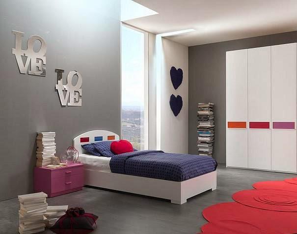 desain kamar tidur minimalis modern desain denah rumah