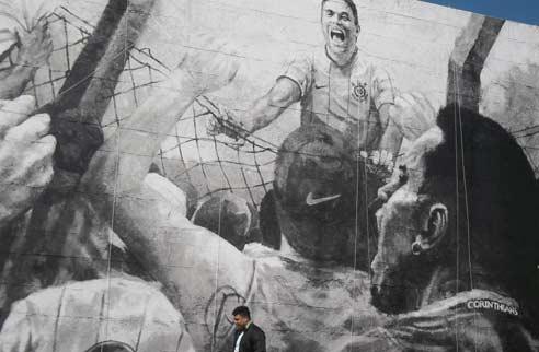 1º gol do Fenômeno no Timão contra o...