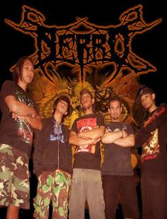 Nerro Band Deathcore / Metalcore / Death Metal Karawang Jawa Barat Foto Personil Logo Artwork Wallpaper