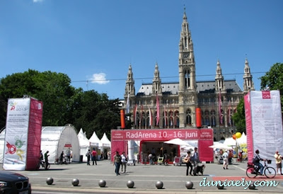 Balai Kota Vienna Austria