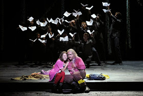ENO The Magic Flute - Mary Bevan and Roland Wood (c) Robbie Jack