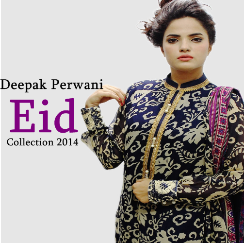 Deepak Perwani Eid Collection'14