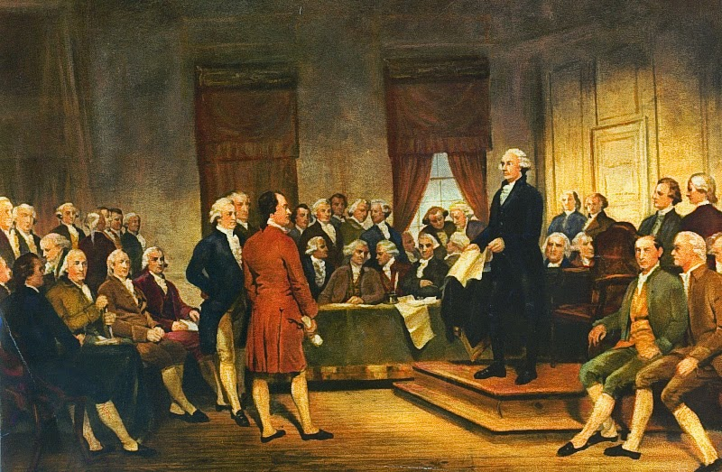 Founding Fathers political freedoms robust Constitution
