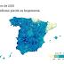 El bipartidismo dejó de ser la opción mayoritaria en 677 municipios.