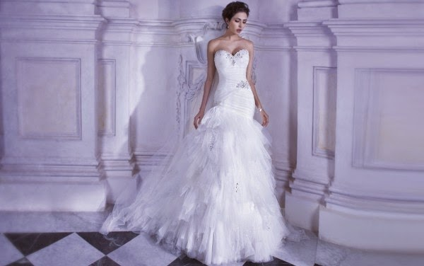 Romantic Wedding Dresses by Demetrios Couture 5
