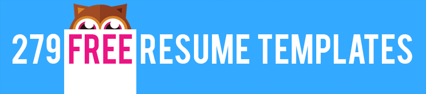 279 free resume templates - Wwwfree Resumecom