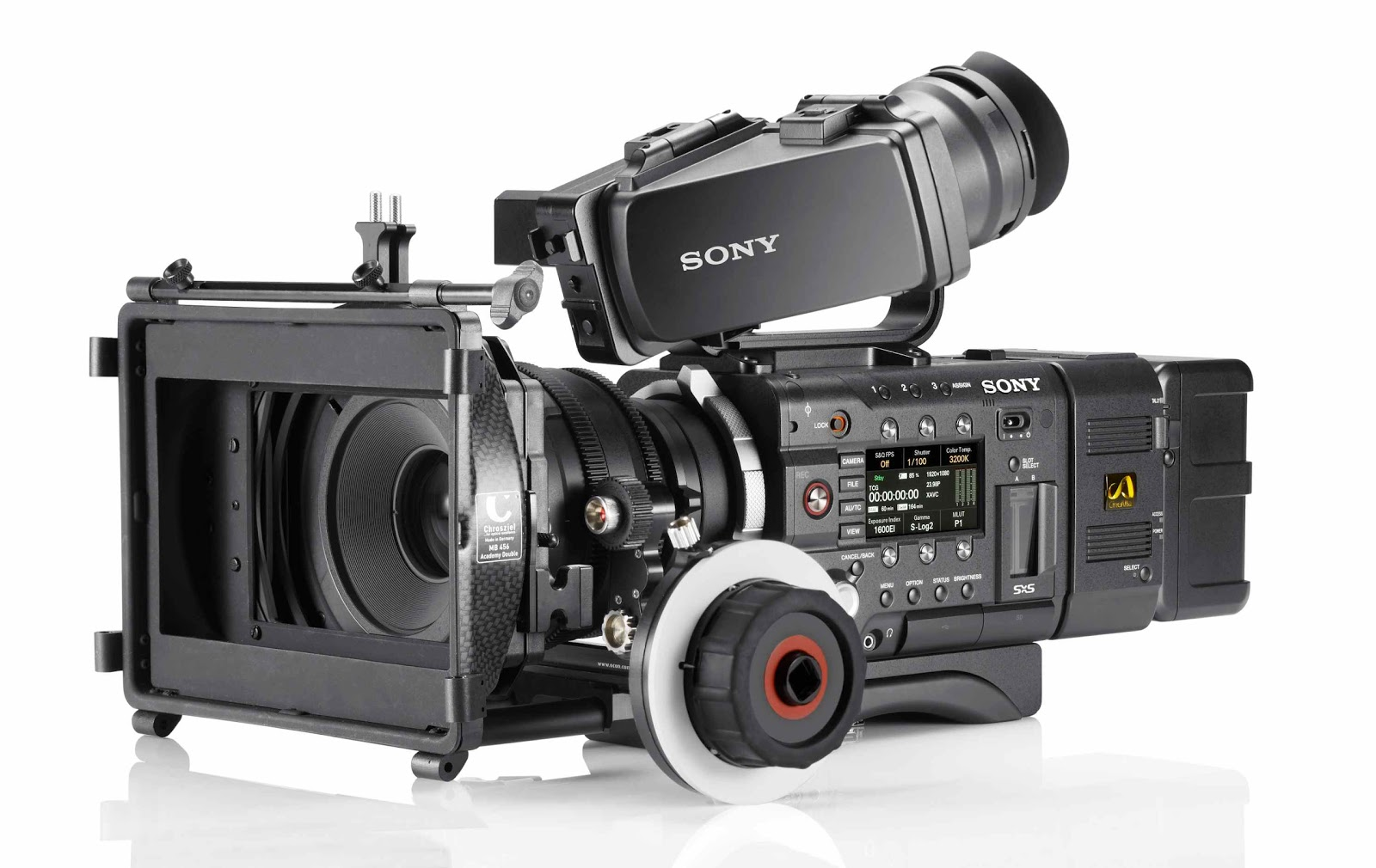 Urbanfox tv blog sony pmw f5 f55 4k cameras - Tv in camera ...