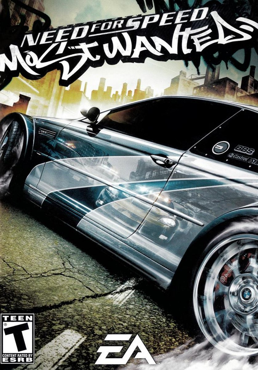 Need For Speed Most Wanted Game Poster | Need For Speed Most Wanted Game Cover
