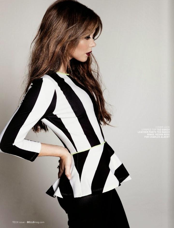 Magazine Photoshoot : Sarah Hyland Photoshot For Bello Magazine January 2014 Issue