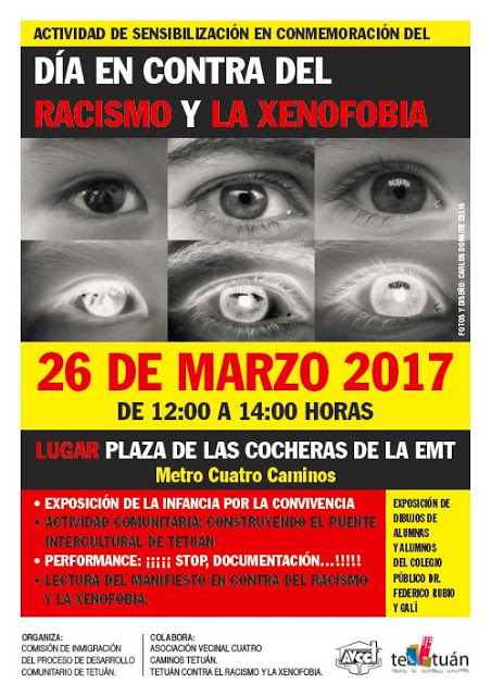 26 de marzo En tetuán contra el Racismo