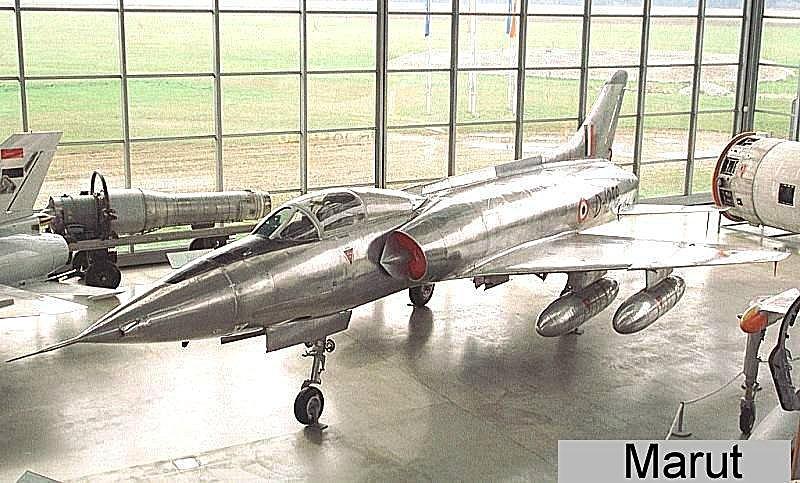 HF-24 Marut India Fighter-Bomber