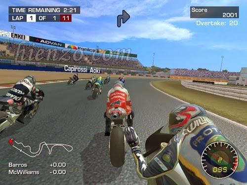 MotoGP 2 PC Gameplay