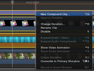 how to cut clips in final cut pro x