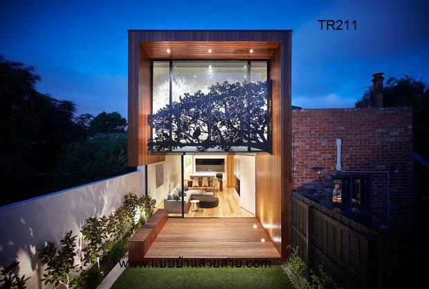 แบบบ้านสวย บ้าน 2 ชั้น  TR211