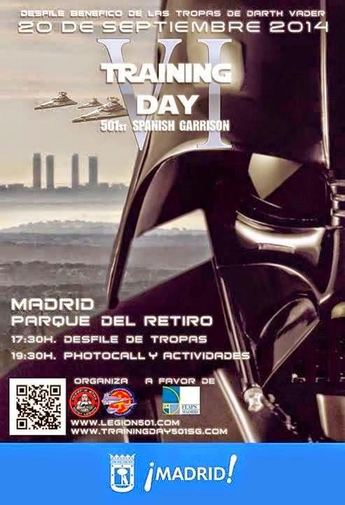 desfile star wars madrid retiro septiembre 2014