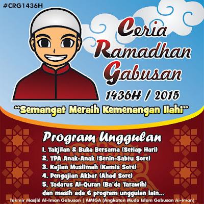 Ceria Ramadhan Gabusan 1436H /2015 www.guntara.com