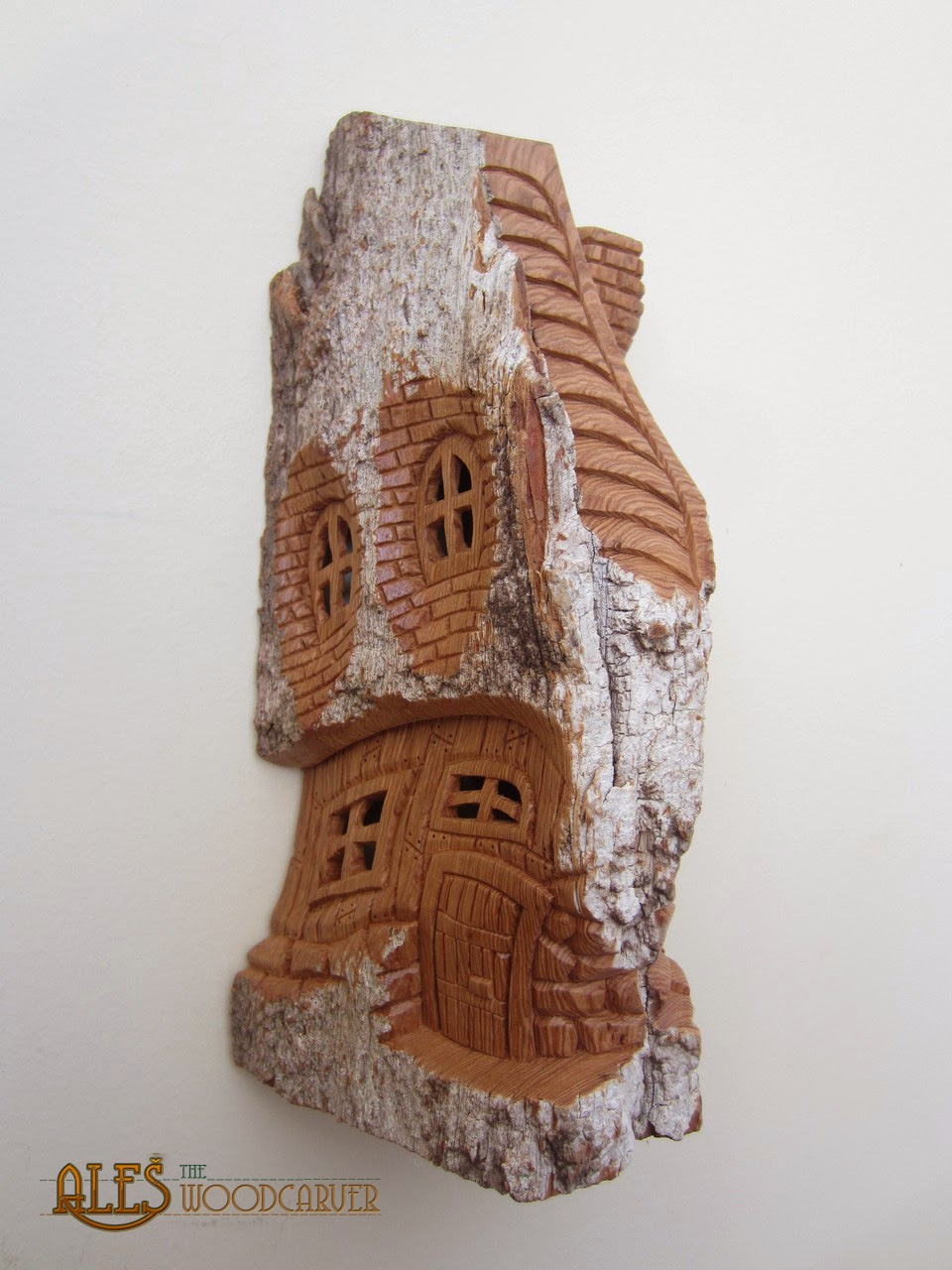 Ales the woodcarver whimsical houses from march