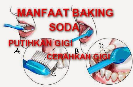 Manfaat Baking Soda Untuk Cerahkan dan Putihkan Gigi