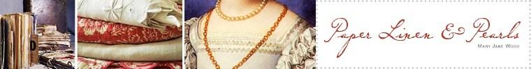 Paper Linen & Pearls