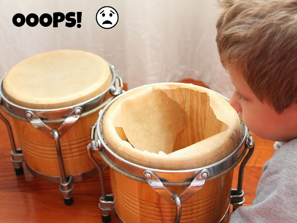 A Second Chance DIY #2 Bongos