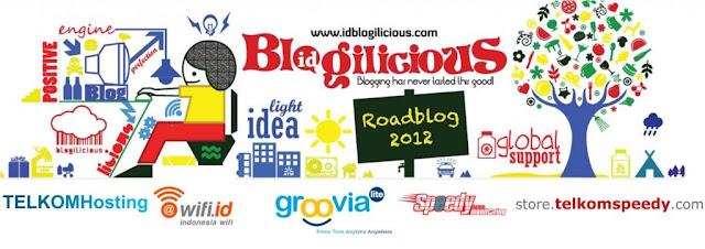 Blogilicious 2012 #CreativeBlog 7 Kota Di Buka
