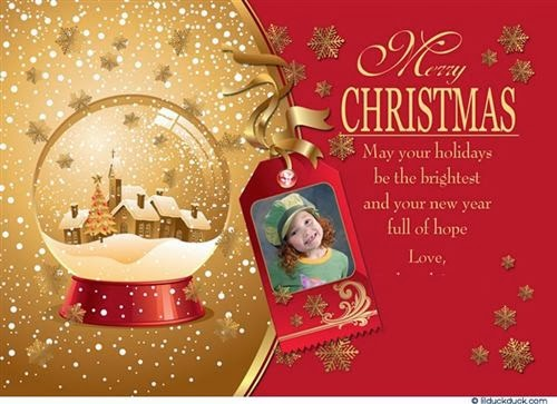 Free Merry Christmas Greetings Card With Sayings 2013