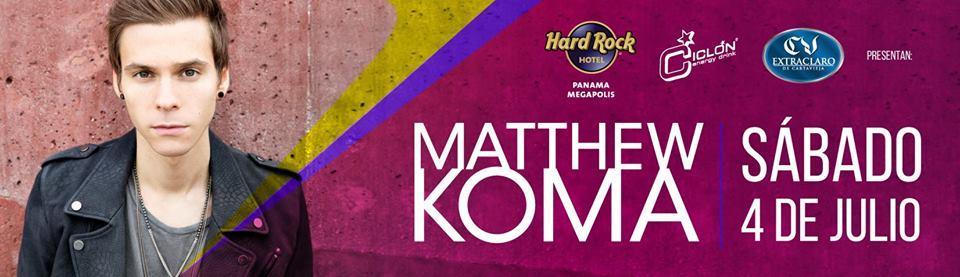 Matthew Koma en Panama.