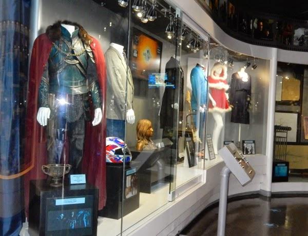 Original Universal Studios movie costumes props