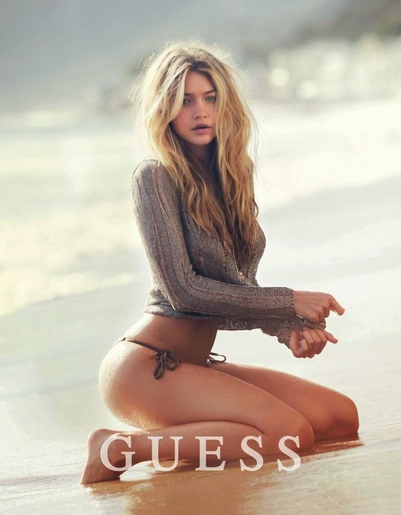 Smartologie: Gigi Hadid for Guess Spring 2015 Campaign