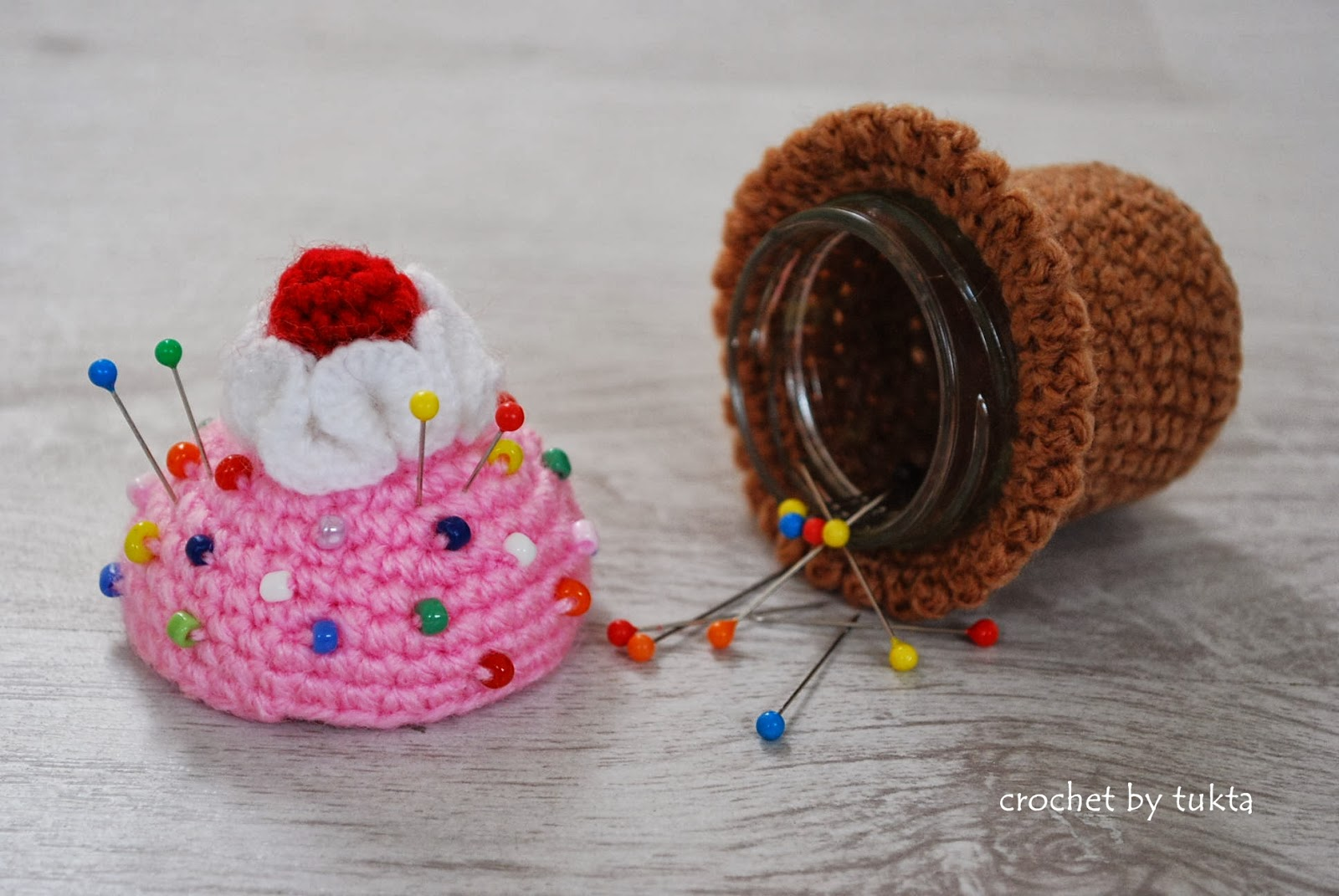 Crochet by Tukta: pin cushion