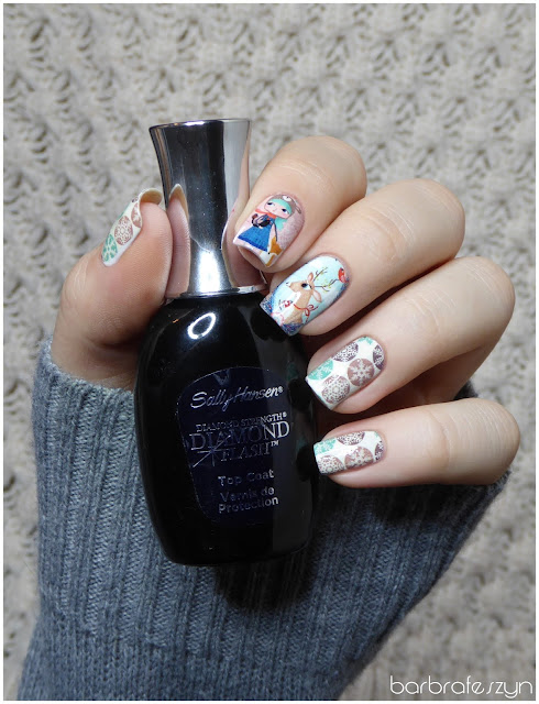 sally hansen diamond flash