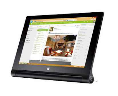 Lenovo Yoga 2 Intel Atom Z3745 TAB Full Specifications And Price in Bangladesh