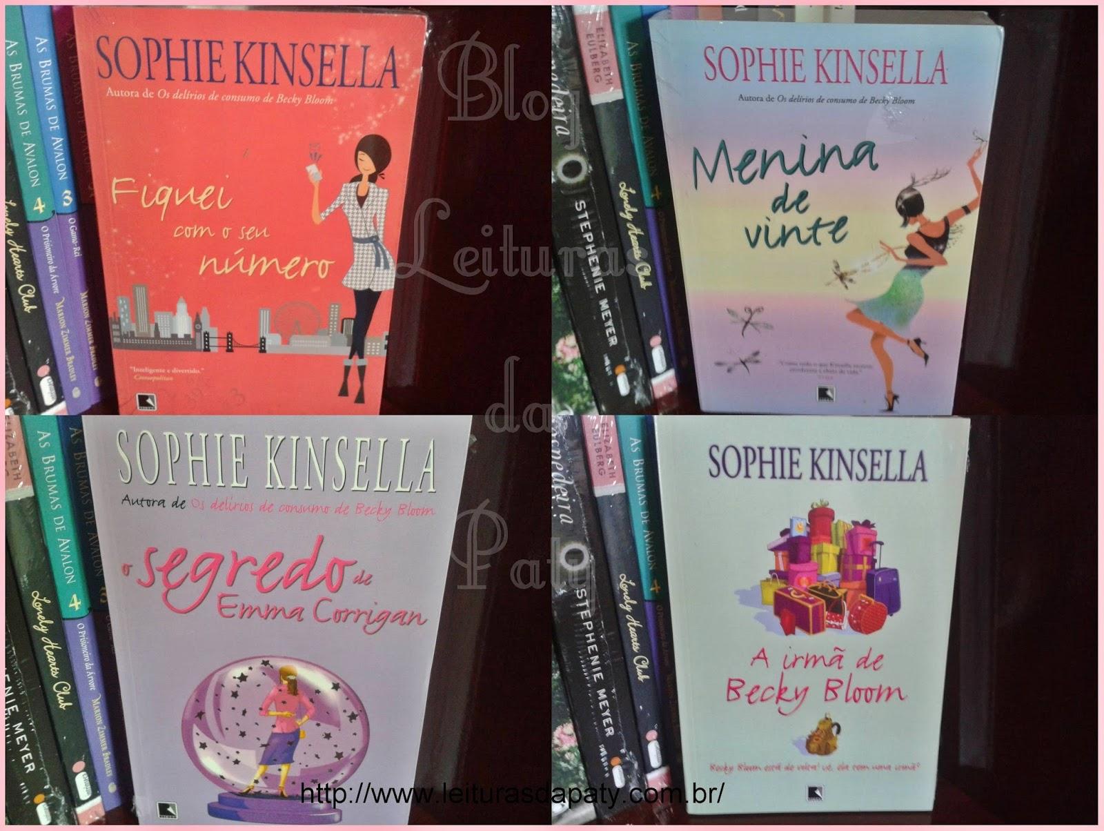 Livro Fiquei com Seu Número - Sophie Kinsella