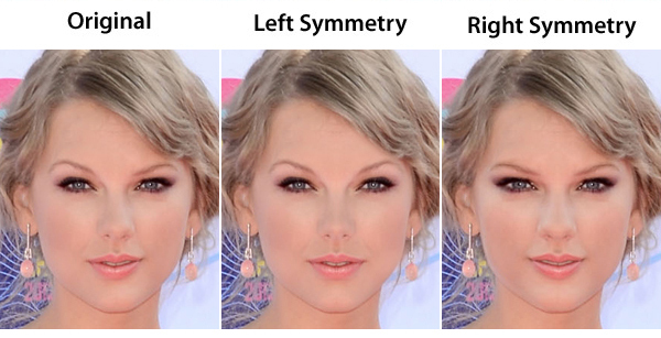 how to tell if your face is symmetrical