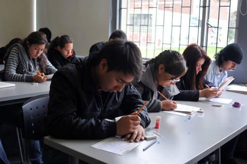Examen de admisión Universidad Nacional de Colombia