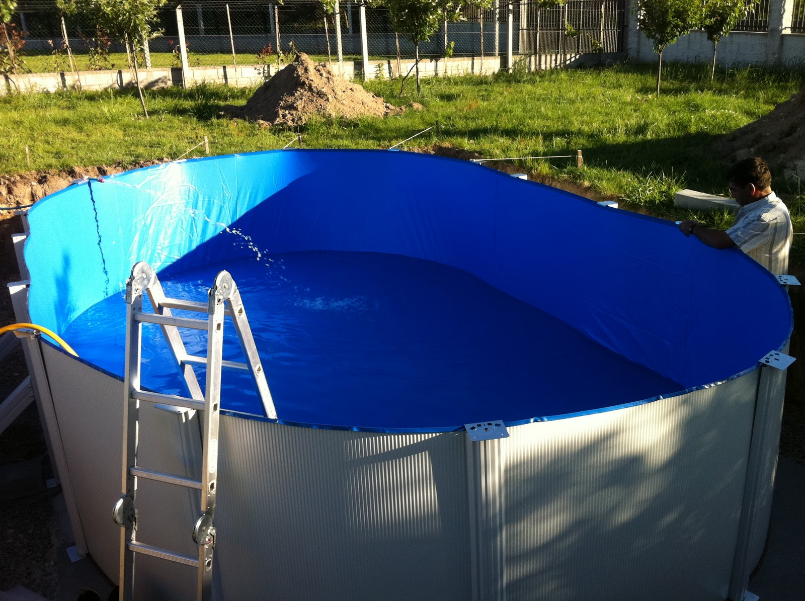 Montaje piscina gre enterrada como montar una piscina gre for Piscina paso a paso