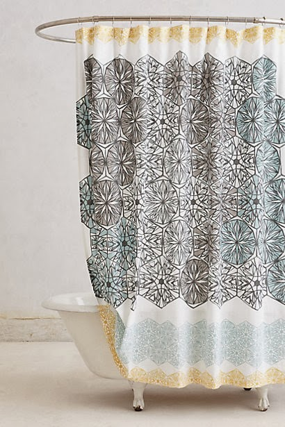 DAISY FAY: Moving house: Shower Curtains