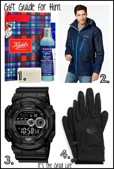 It's the Grad Life, Gift Guide for Him Christmas 2015