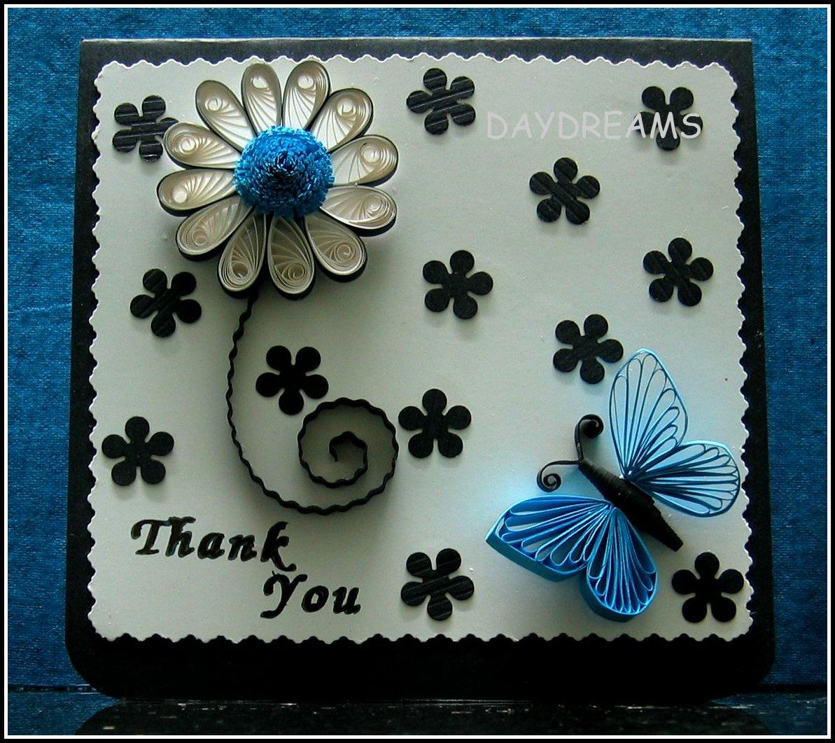 Квиллинг открытки бабочка 93