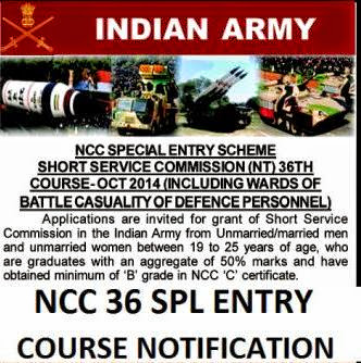 NCC 36 application form and eligibility criteria