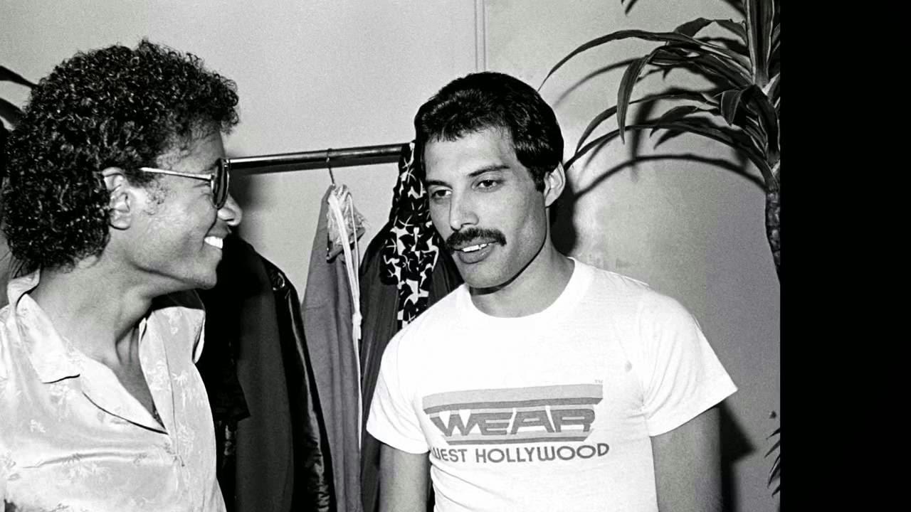 Freddie y Michael Jackson en Queen Forever