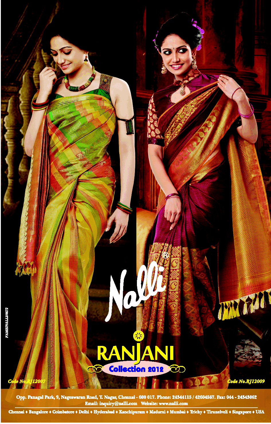 Diwali Collections Silk Sarees