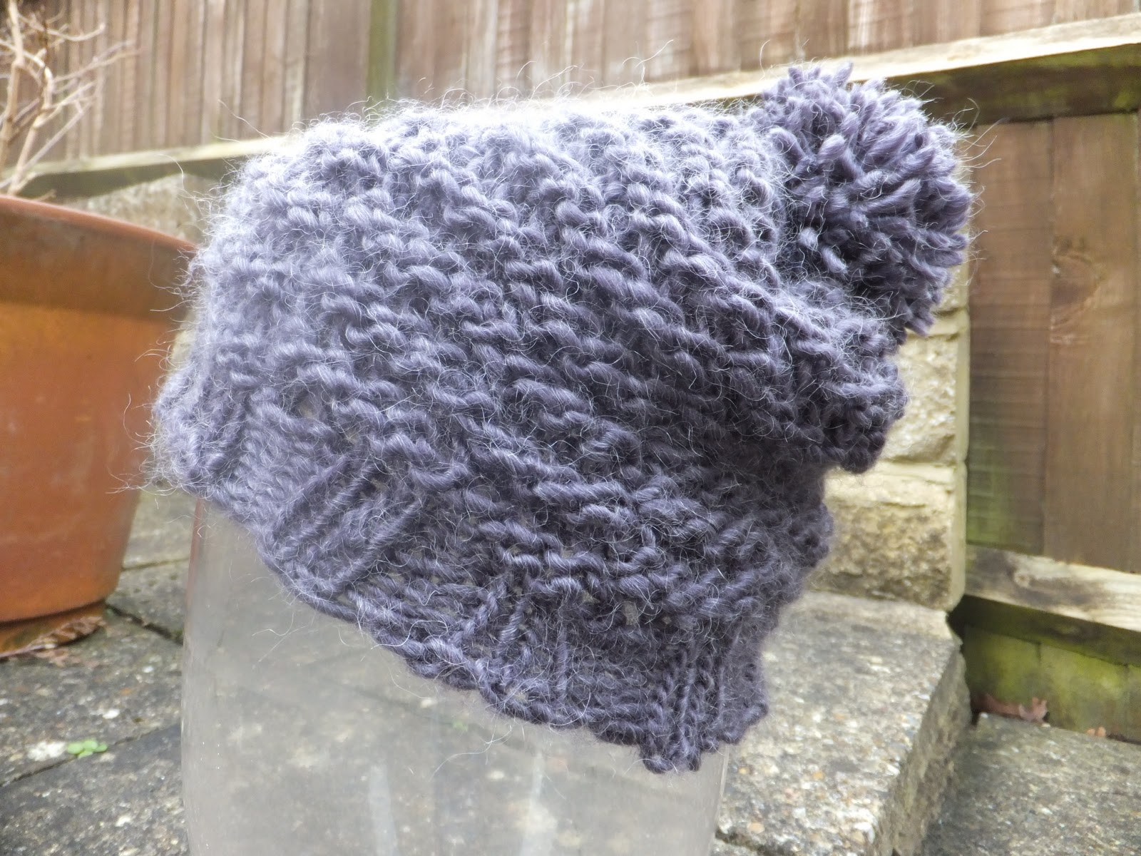 Marysia\'s Craft Projects: Loom Knit Slouchy Hat